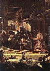 Jacopo Robusti Tintoretto The Last Supper [detail 1] painting